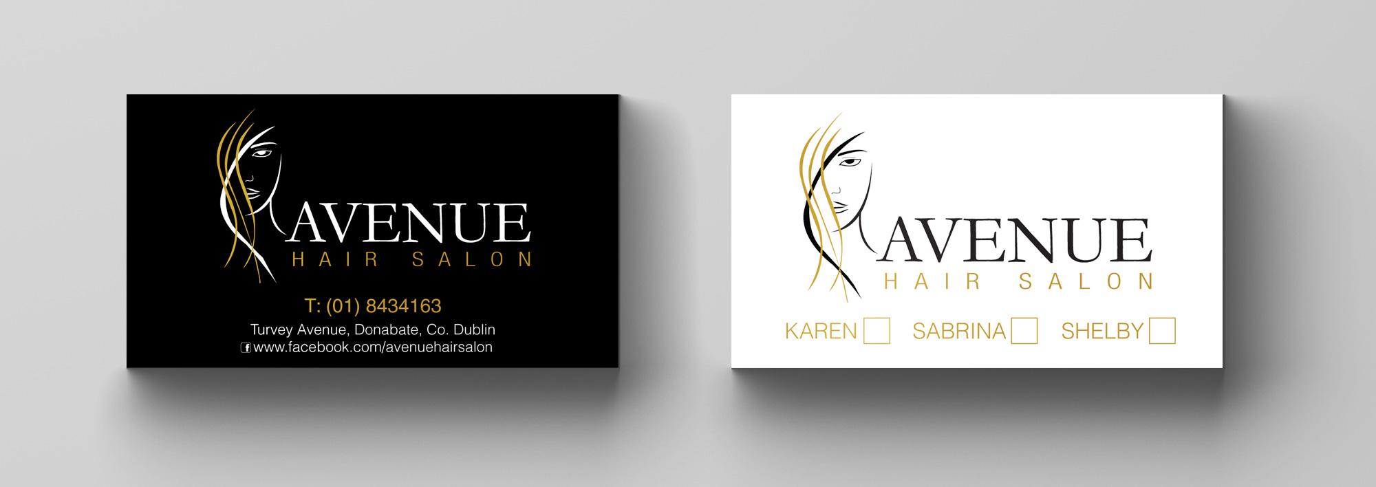 Avenue Hair Salon | Codesign Graphics